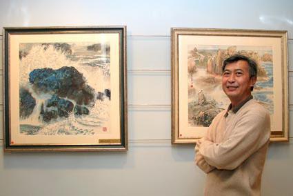 He yifu for Artiste peintre chinois
